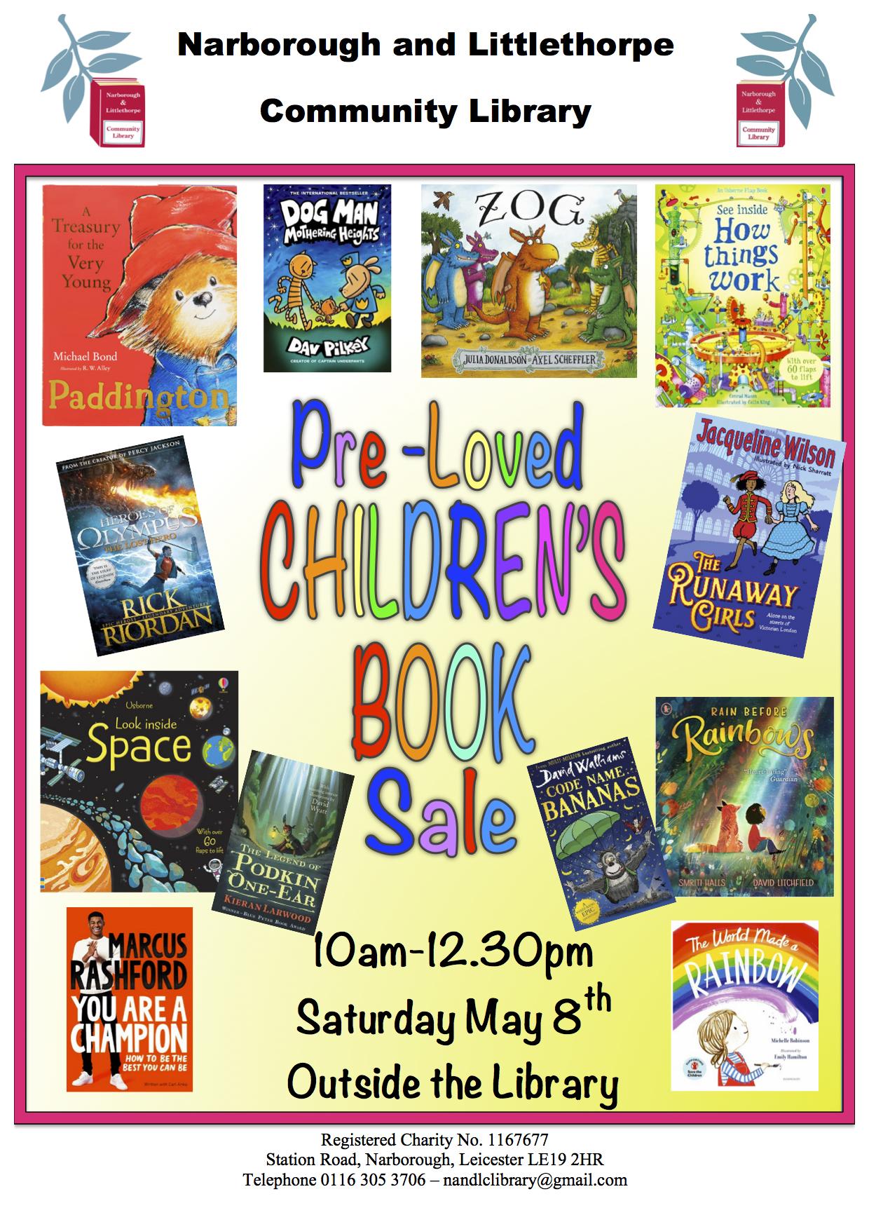 Children's Preloved book sale
